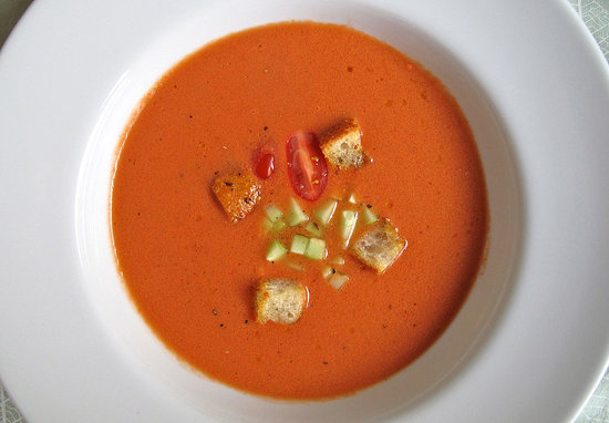 ... could be more refreshing than a bracing shooter of chilled gazpacho